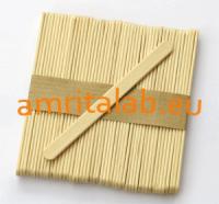Дървени шпатули за кола маска - тесни