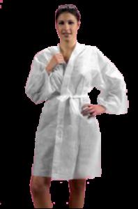 Кимоно бяло