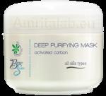 """Дълбокопочистваща маска """"Aктивен въглен"""" за всеки тип кожа"""