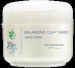 Балансираща детокс маска за нормална и суха кожа