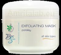 Ексфолираща маска за лице с магданоз