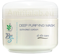 Дълбокопочистваща маска с активен въглен
