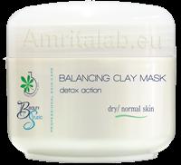 Балансираща почистваща маска за нормална и суха кожа