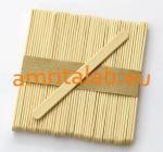 Тесни дървени шпатули за фино нанасяне и оформяне на кола маска