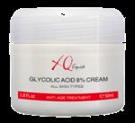 Анти-ейдж / Анти-акне крем с 8% гликолова киселина