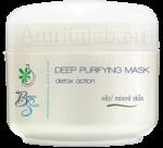 Детокс маска за дълбоко почистване на мазна, смесена и акнетична кожа