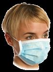 Трислойна санитарна маска за лице
